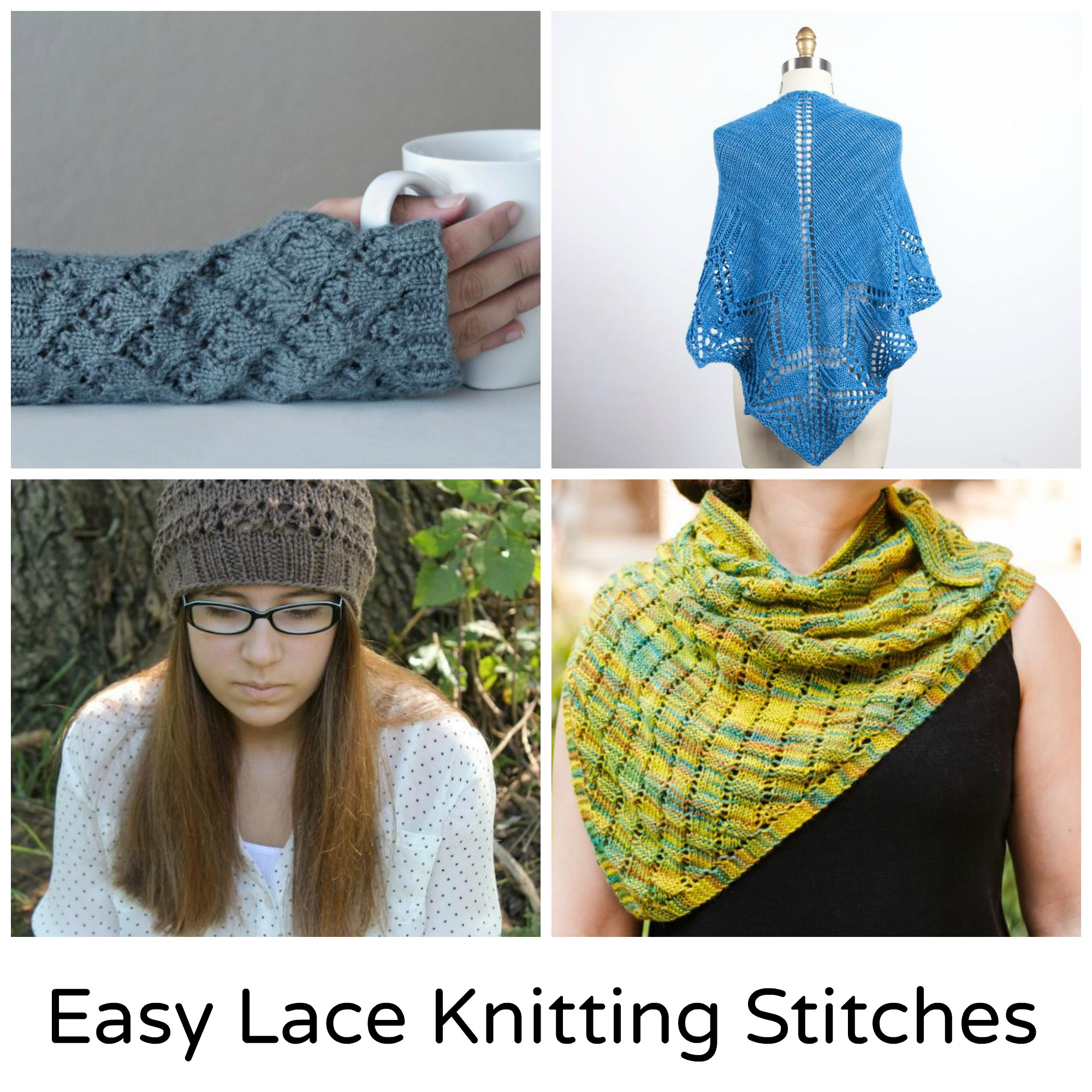 Easy Lace Knitting Stitches