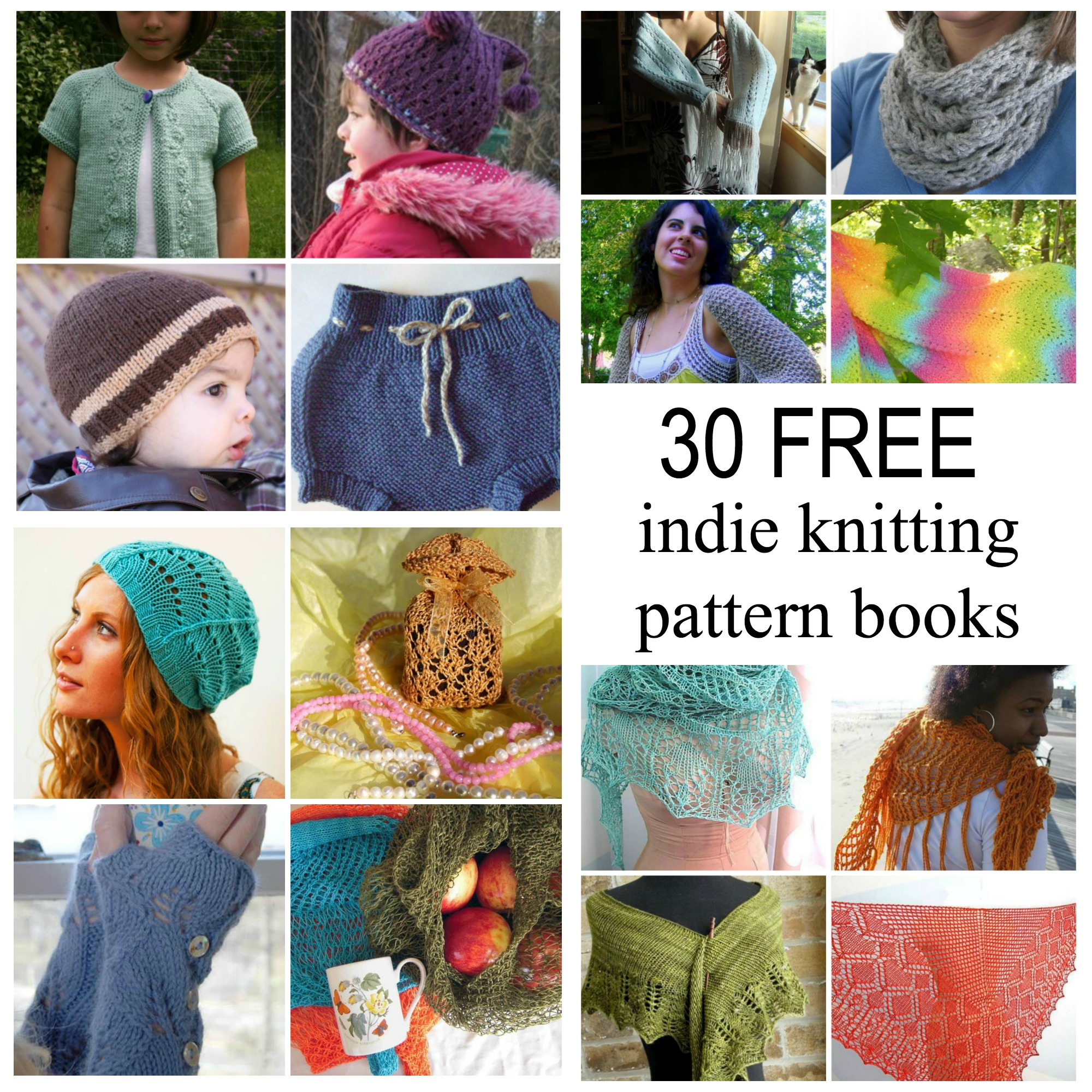 Free Knitting Pattern Book