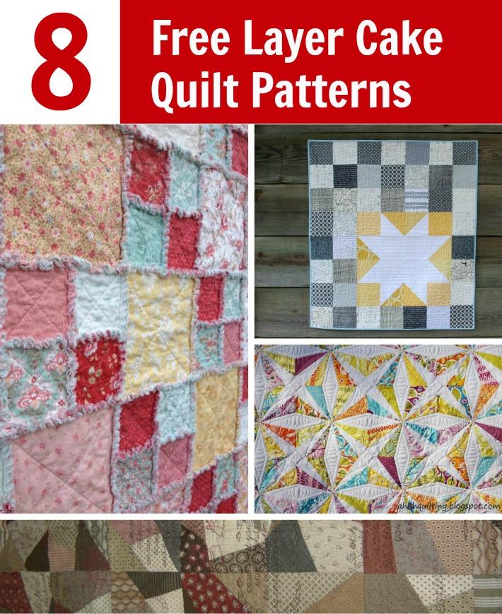 Free Layer Cake Quilt Patterns
