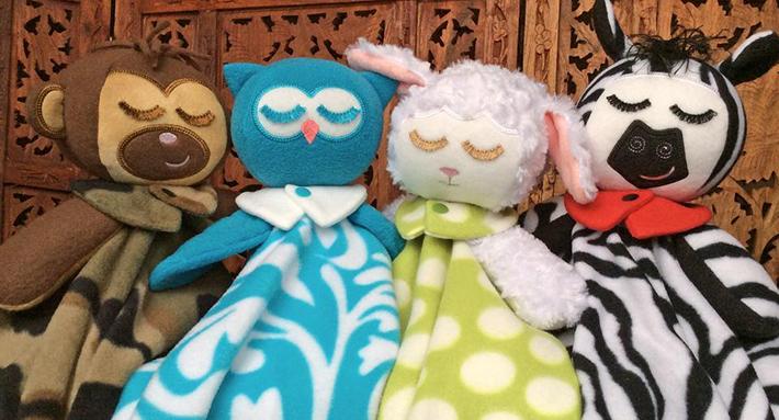 Lullaby Blanket Babies Set in the hoop