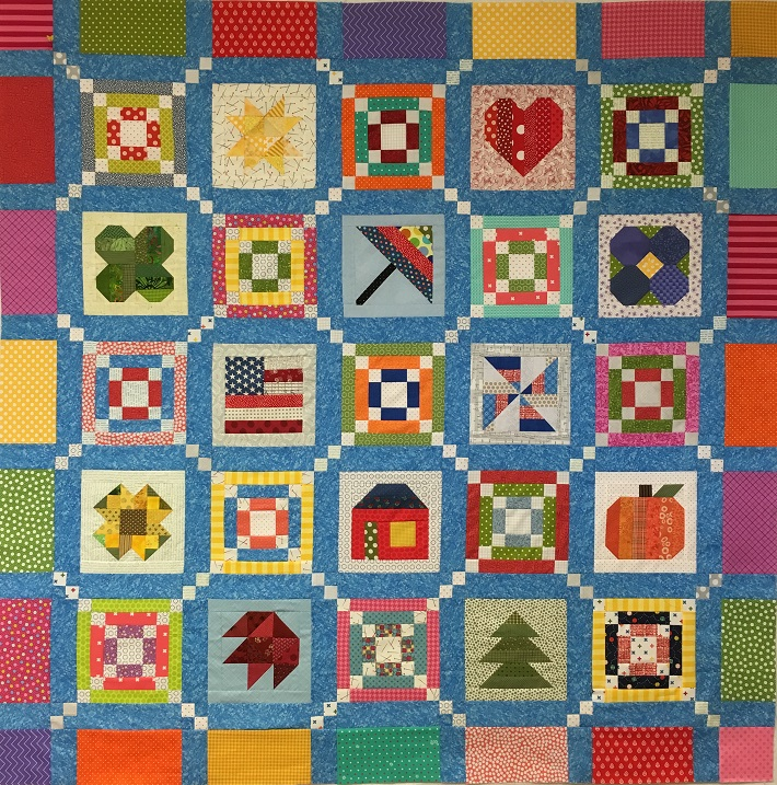 crappy Block of the Month Quilt