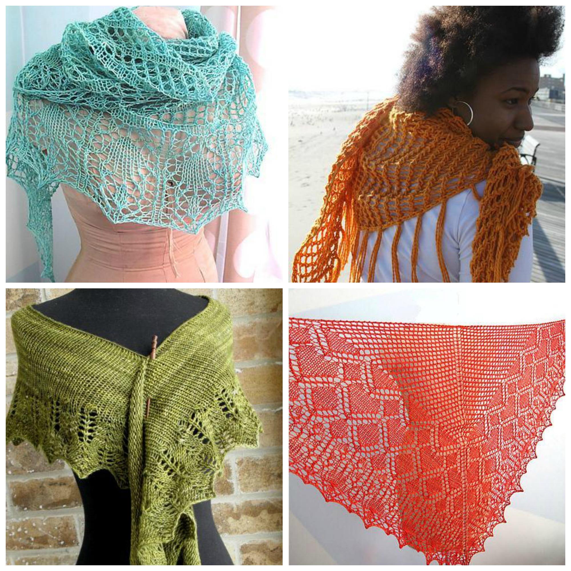 Free Shawls Knitting Pattern eBook 2