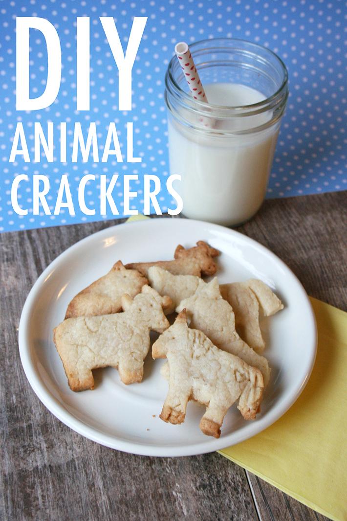 DIY Animal Cracker Recipe - On Craftsy!