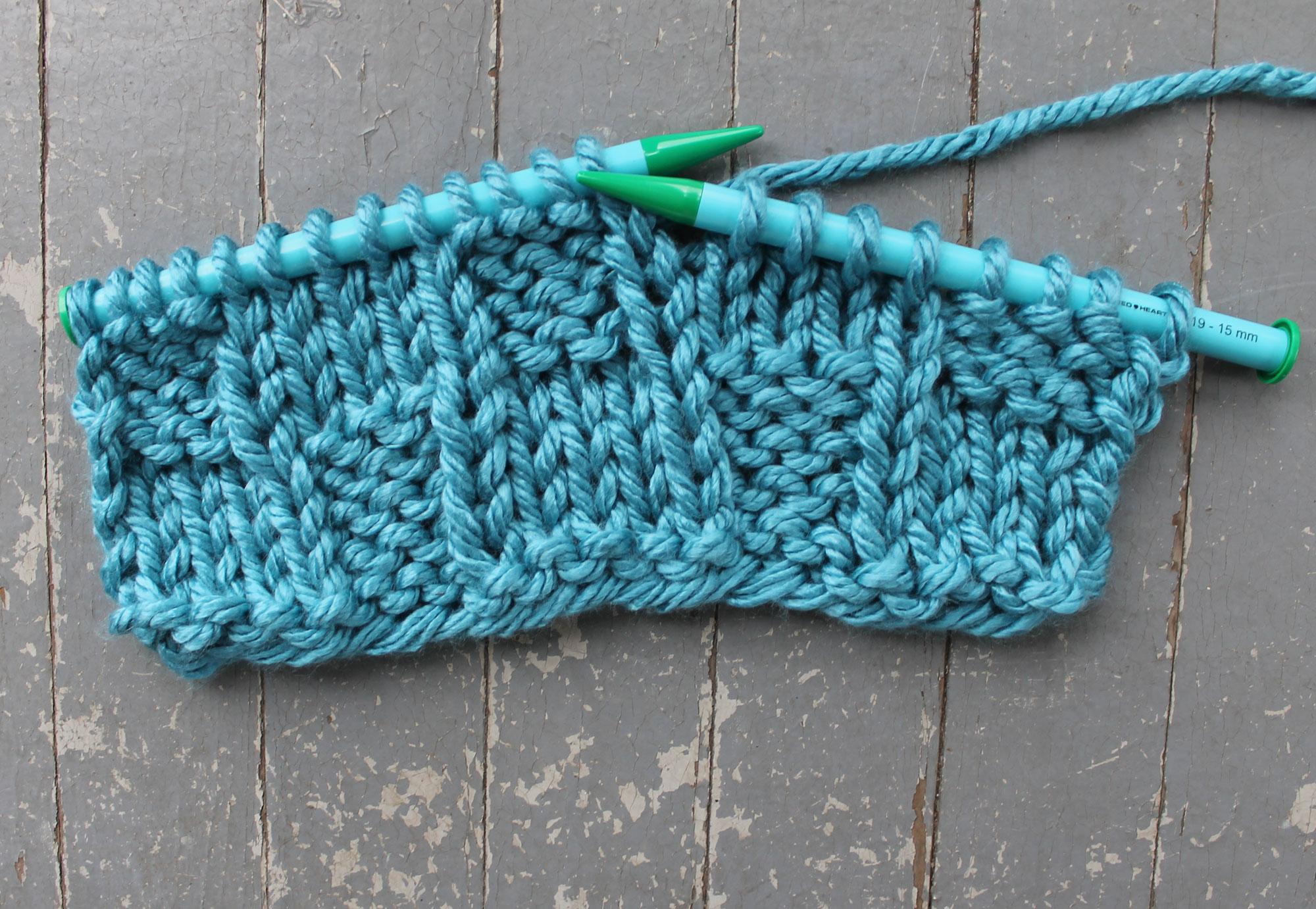 Basketweave Knitting Stitch