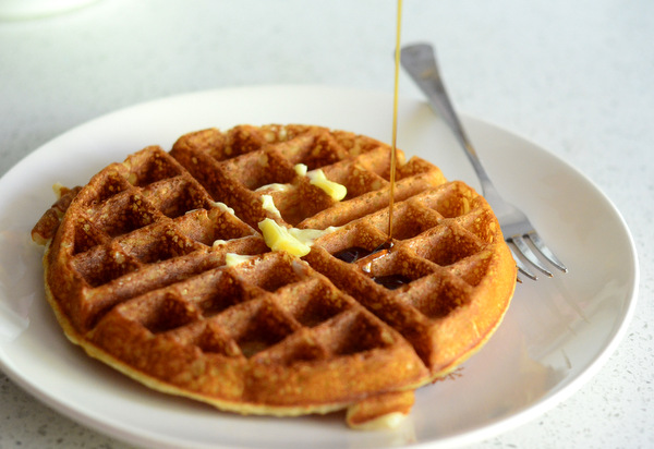 Deliciously Easy One-Bowl Belgian Waffle Recipe