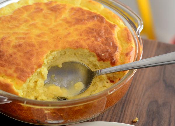 Classic Gruyere Cheese Soufflé