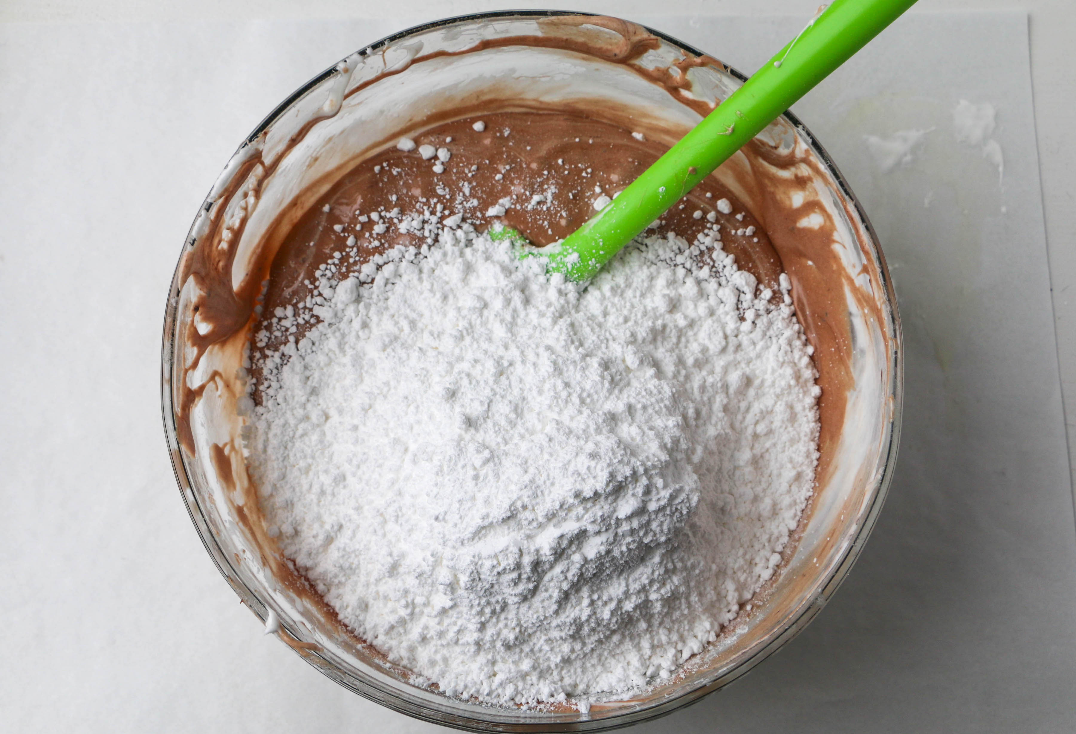 Adding confectioners sugar | Erin Gardner