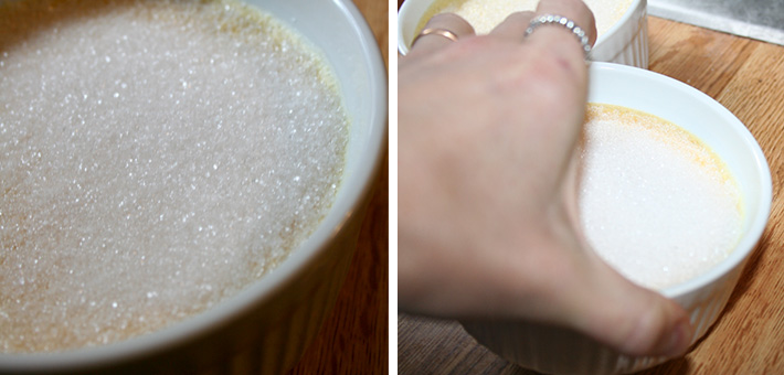Sugar topping