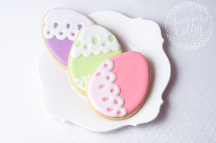 How to decorating Easter cookies with royal icing