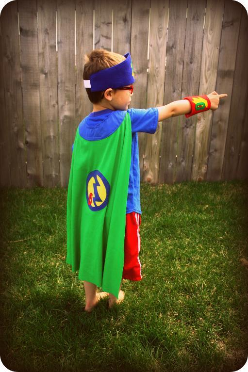 Every Hero's Cape and Accessories Sewing Pattern