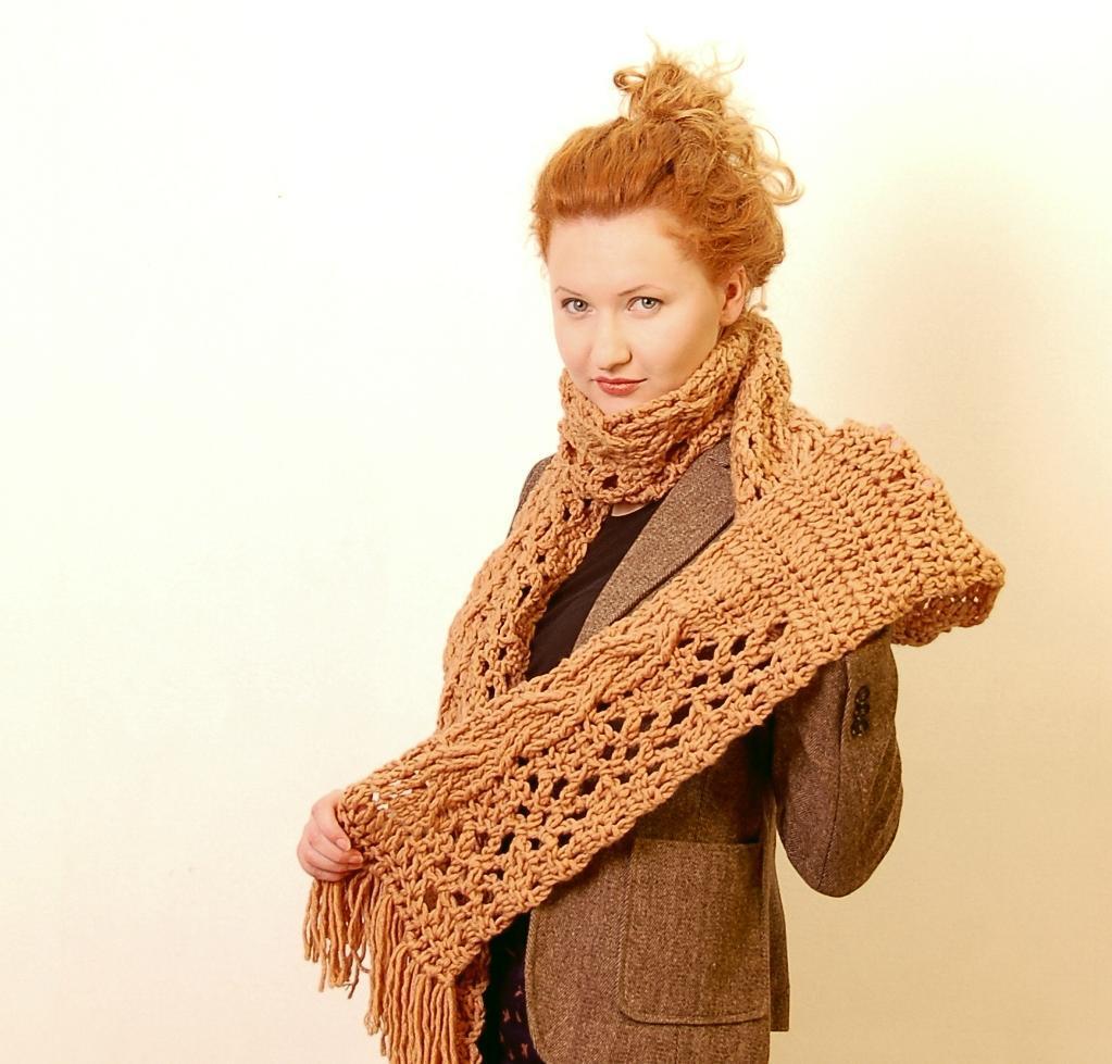 Riga Scarf Crochet Pattern