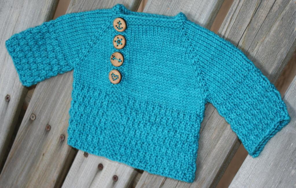 My Gift to You FREE Baby Sweater Knitting Pattern