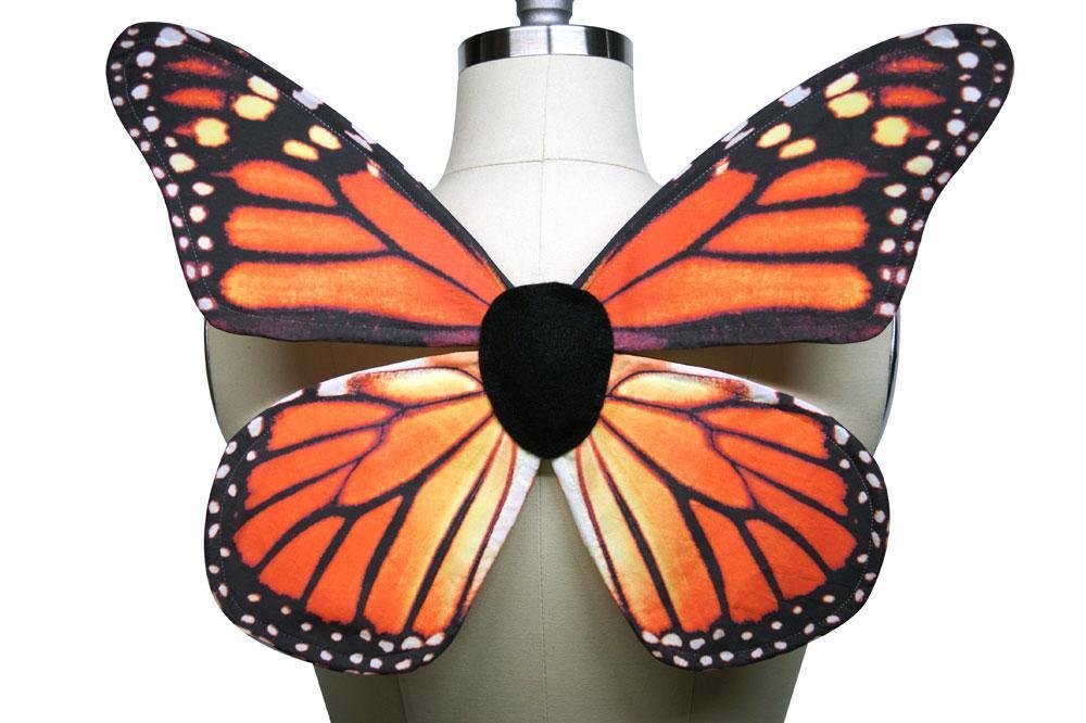 Monarch Butterfly Wings FREE Sewing Pattern