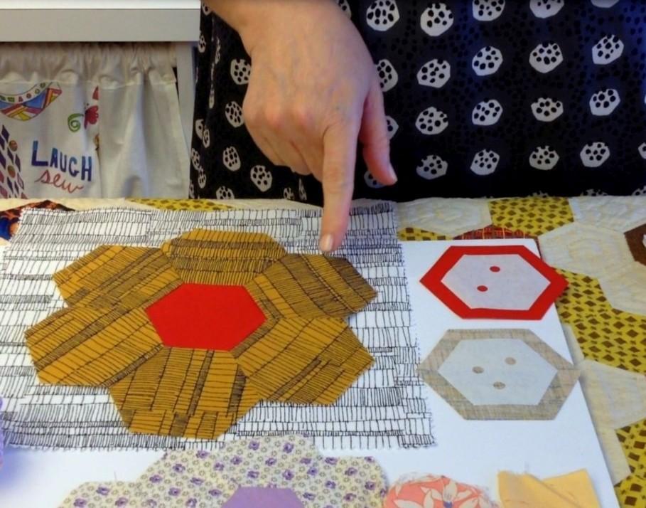 Make It Simpler Hexagon Cutting Pattern