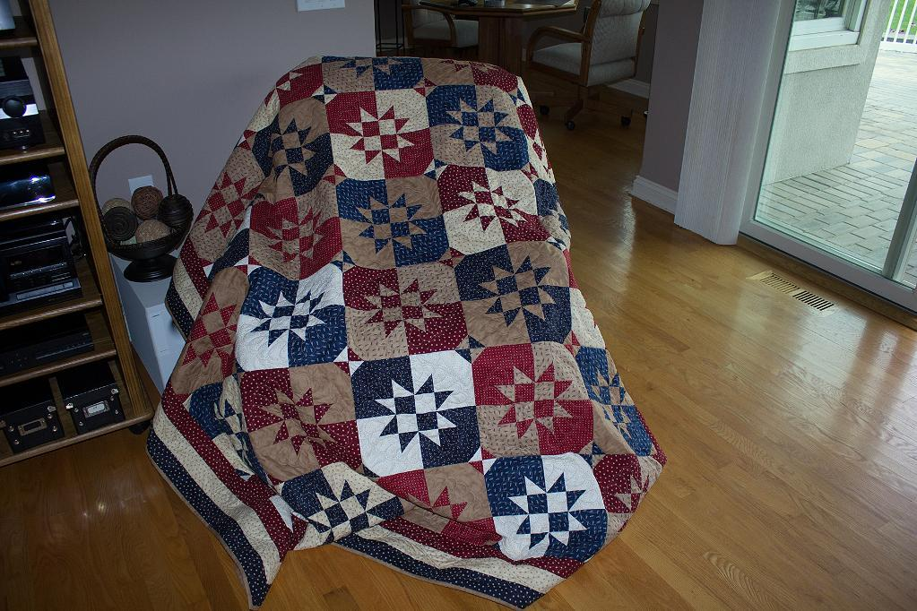 Disappearing Hour Glass Quilt Pattern