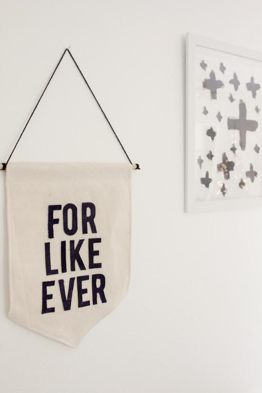 Create a one-of-a-kind canvas banner