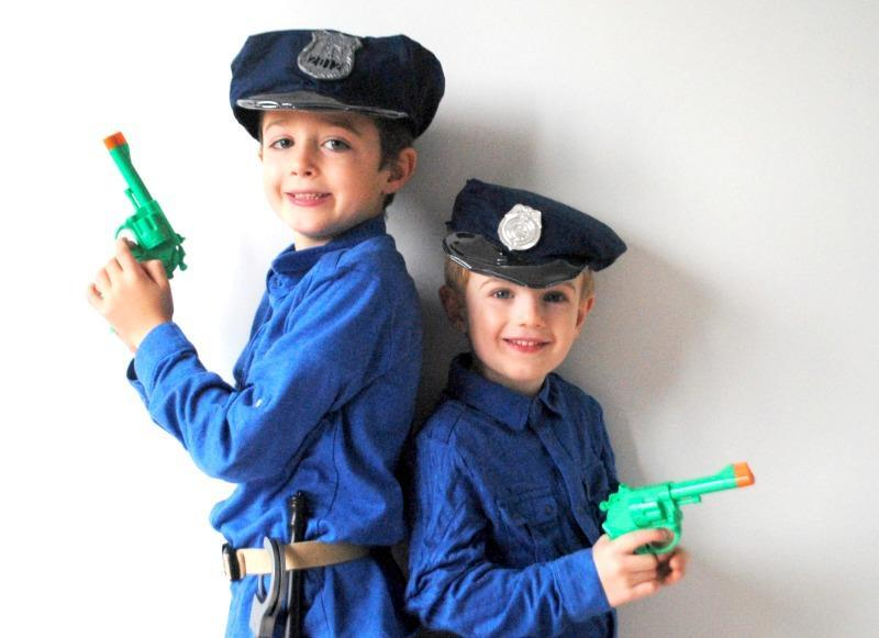 Child's Police Hat FREE Sewing Pattern