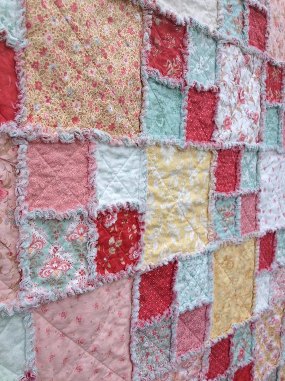 Layer Cake Rag Quilt FREE Pattern