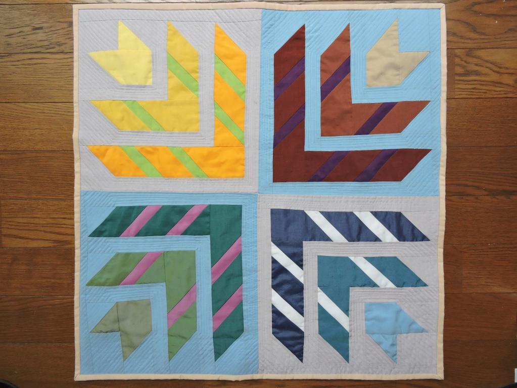 Circle Of Life mini quilt