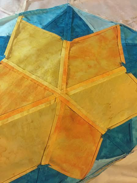 how to press quilting seams