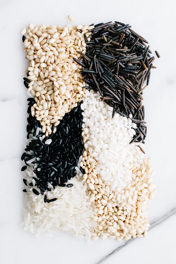 Types of rice