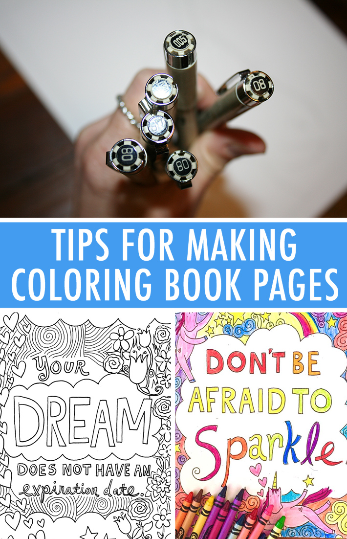 How to Make a Coloring Page