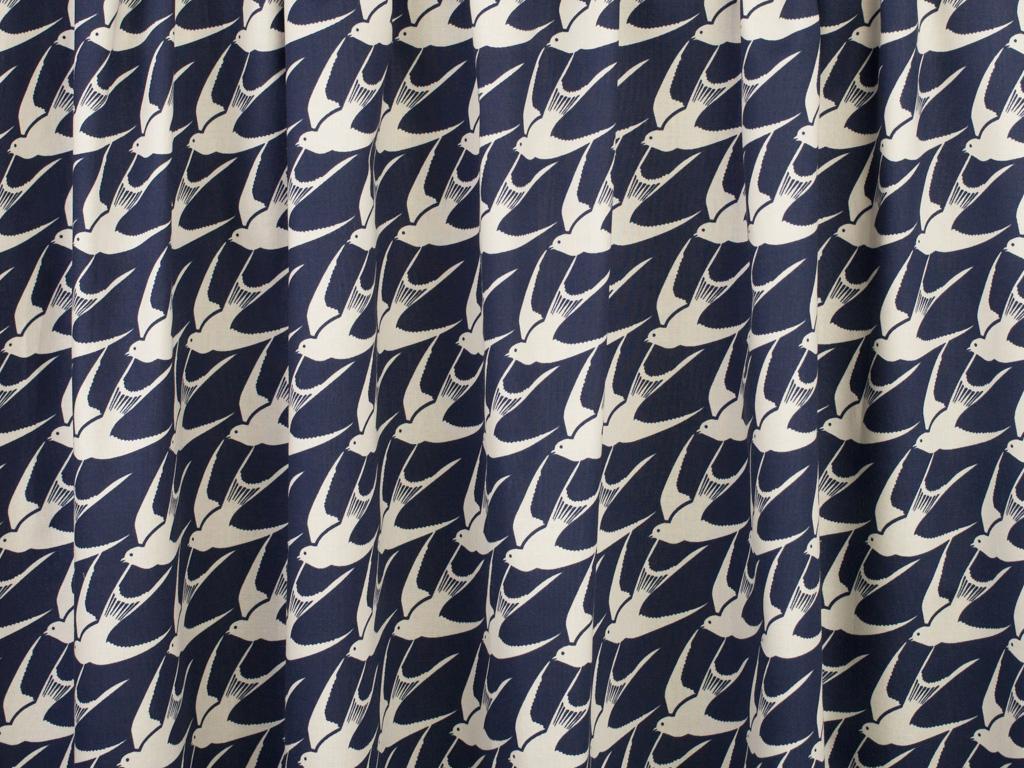 Cotton + Steel Bluebird Flock Cotton Fabric