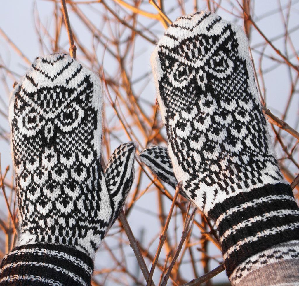 Night Owl Mittens Kit
