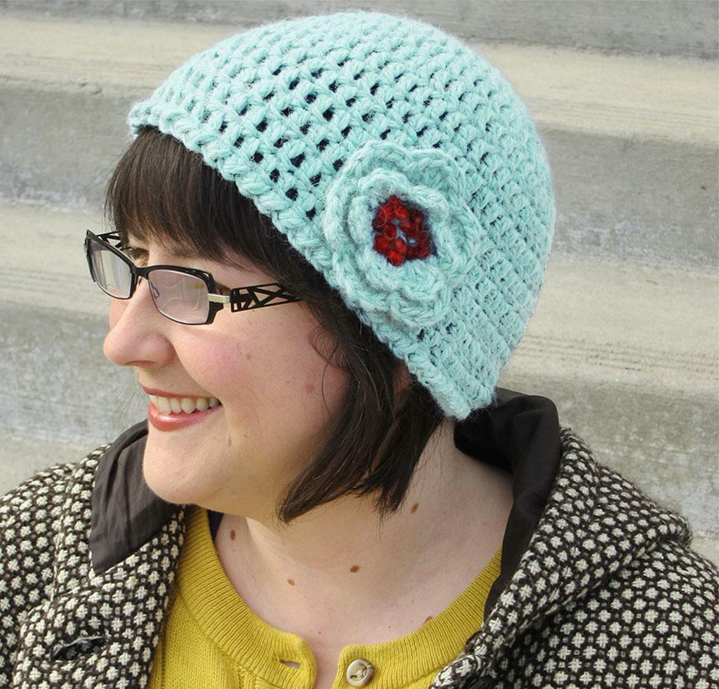 Quick & Simple Crochet Hat & Flower Kit
