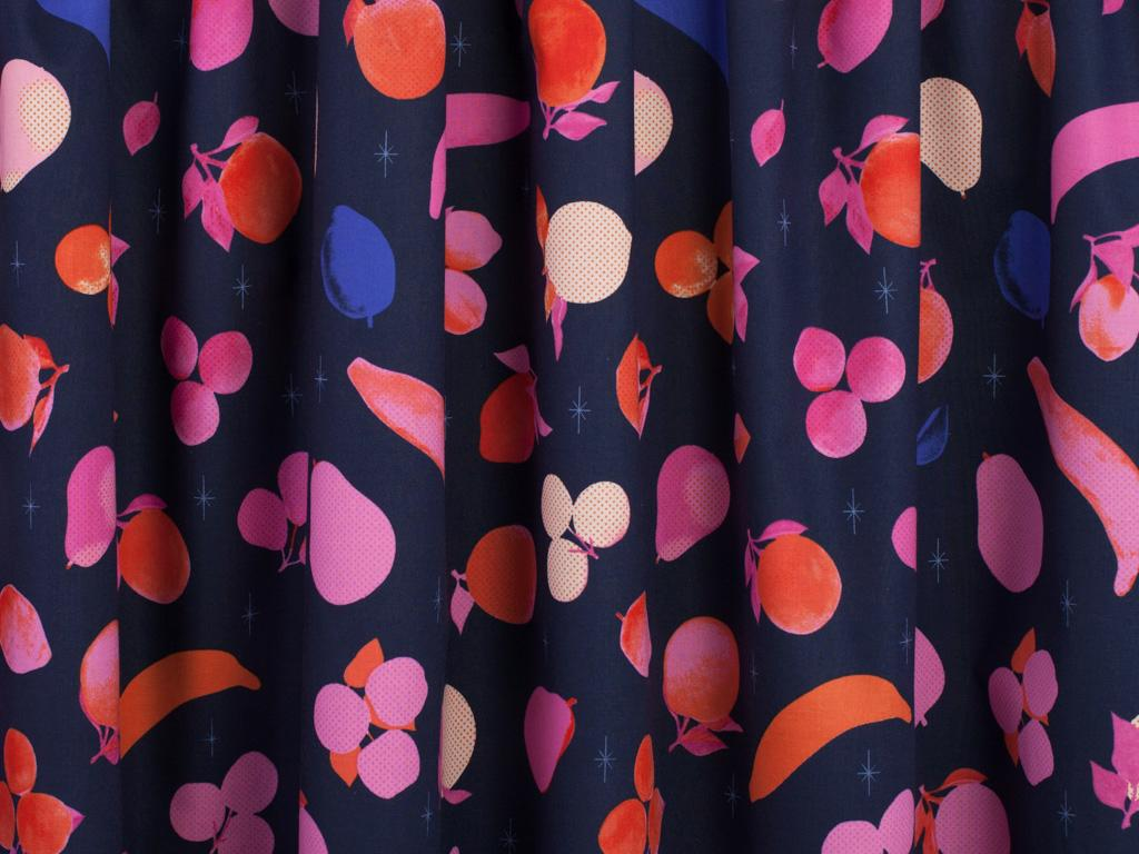 Cotton + Steel Fruit Dots Fruit Stand Cotton Fabric