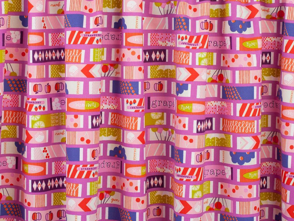 Cotton + Steel Fruit Dots Fruit Gum Cotton Fabric