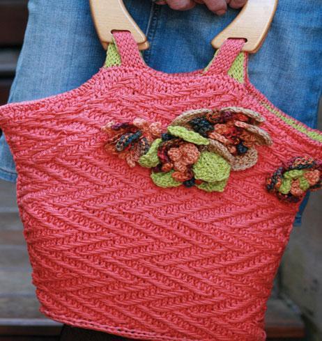 Boardwalk Bag Knitting Pattern