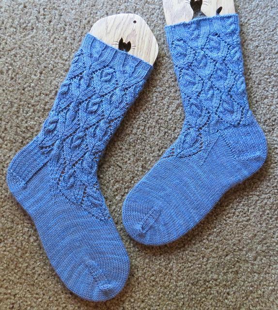 Ipomoea Knit Socks