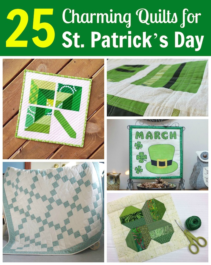 25 Charming St. Patrick's Day Irish Quilts