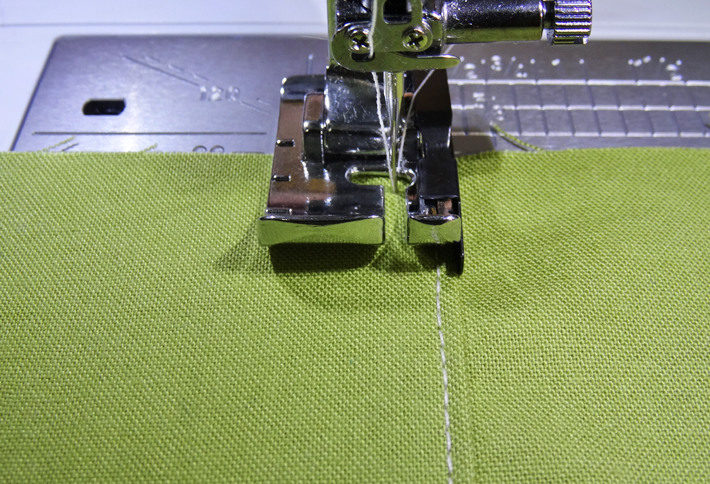 Quarter Inch Foot ready to Top-Stitch