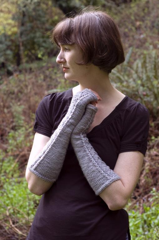 Woodpigeon Mitts Knitting Pattern
