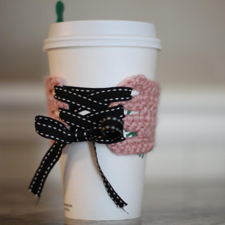 coffee corset cozy