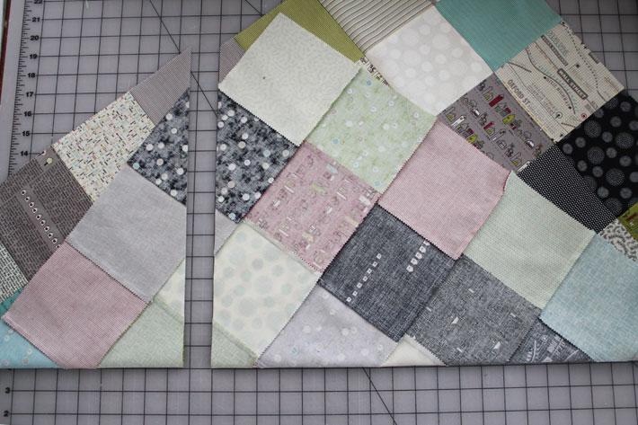 cut the quilt