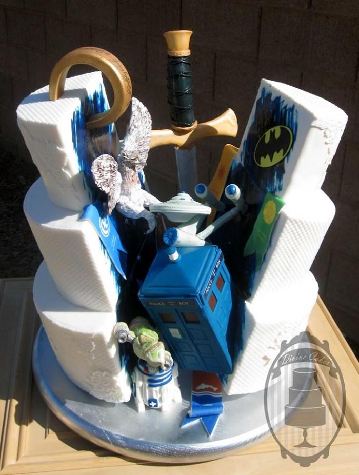 Devine Cakes Superhero Cake