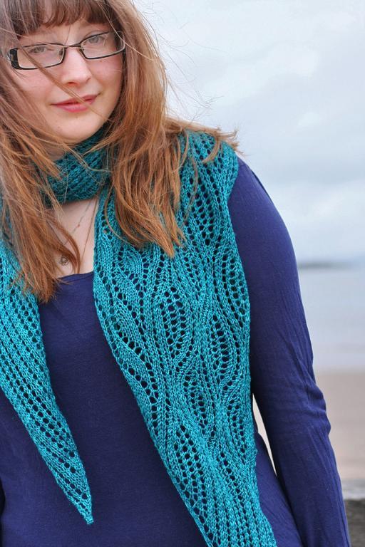 estuary knit scarf