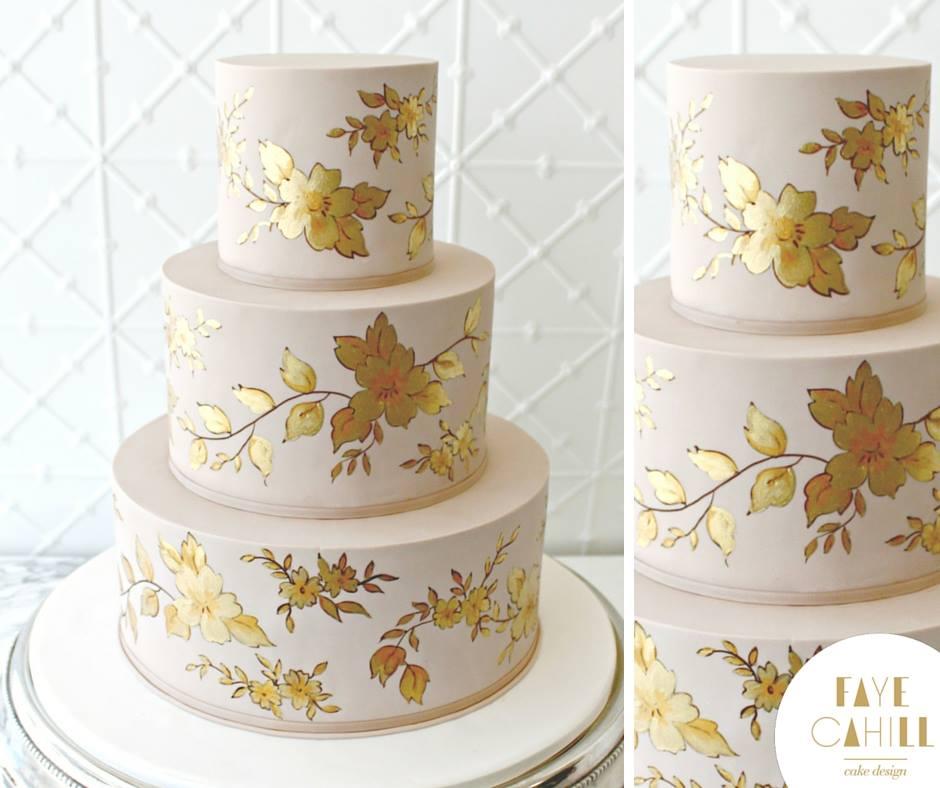Metallic Cake by Faye Cahill