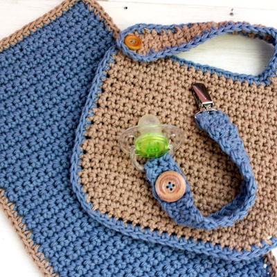 Baby Shower Set FREE Crochet Pattern