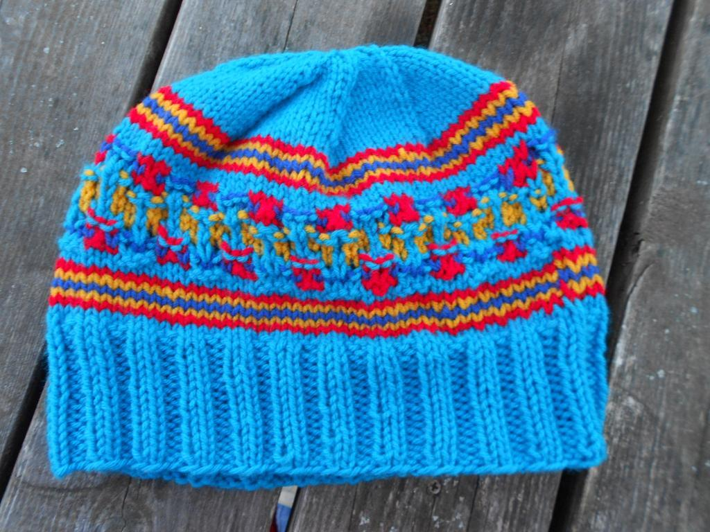 My Bohus Experiment Hat FREE Knitting Pattern