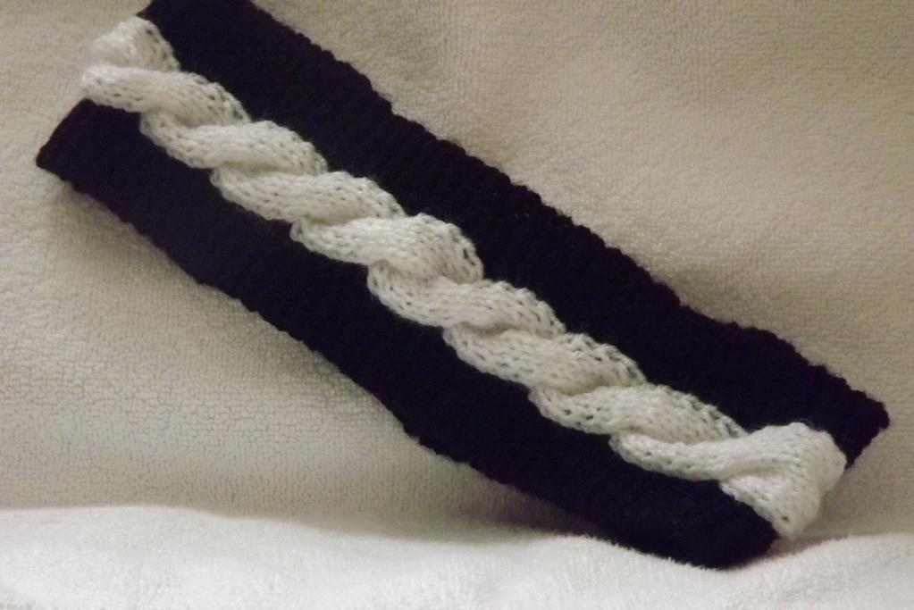 Cable Headband Knitting Pattern