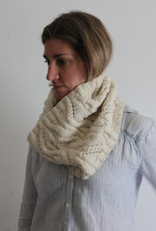 Snowy River Cowl FREE Knitting Pattern