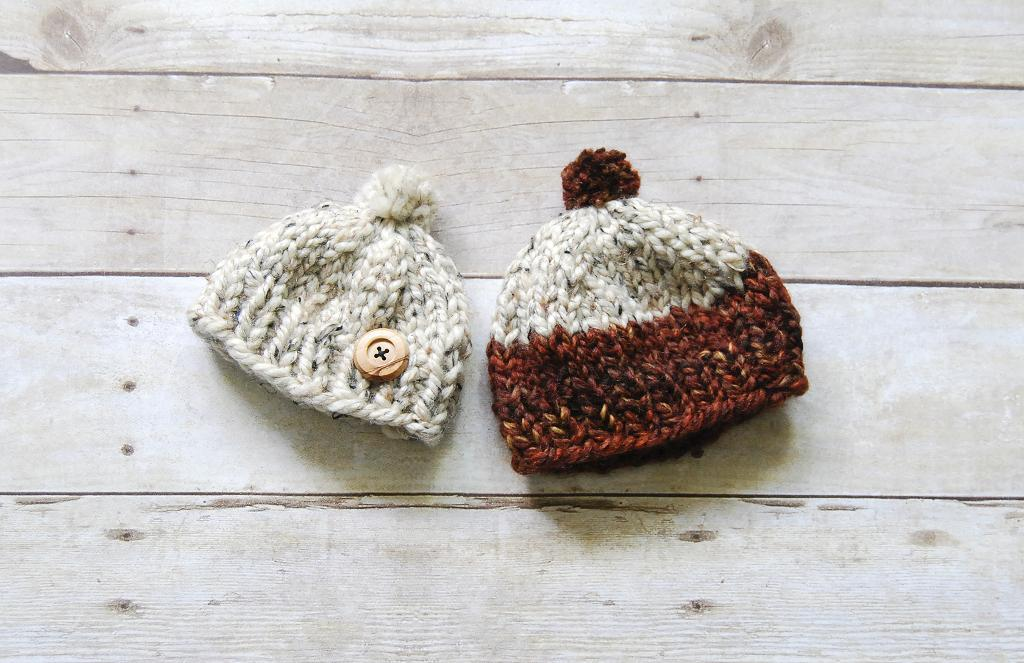 One Hour Baby Toque FREE Knitting Pattern