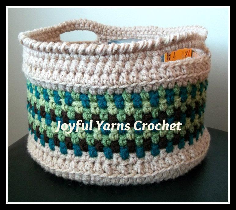 Free Crochet Basket Pattern