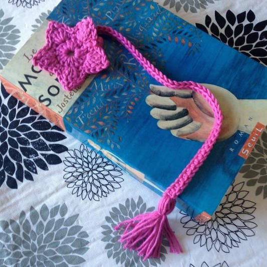 Starflower Bookmark