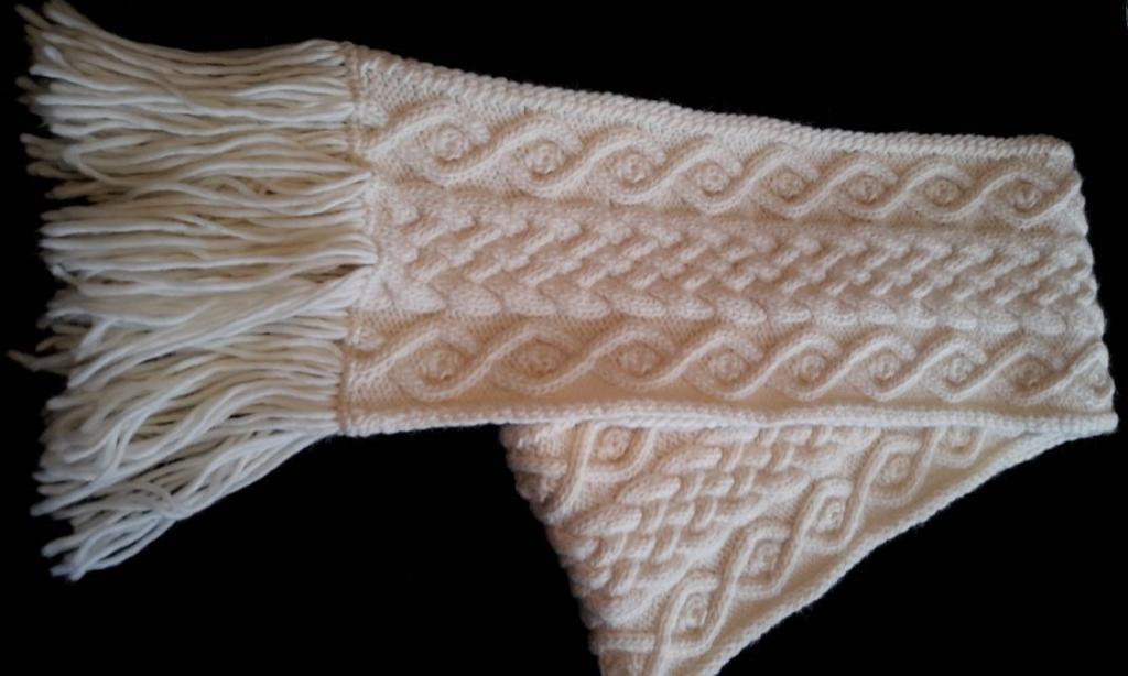 Jenn's Scarf FREE Knitting Pattern