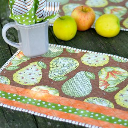 Quilted Place Mats and Cloth Napkins